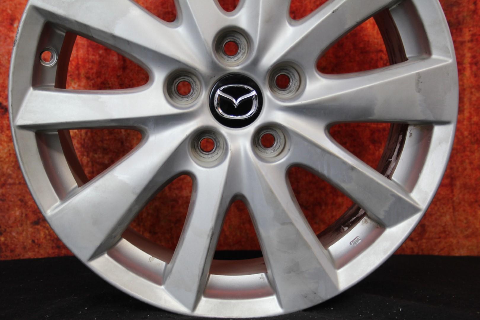 """Mazda CX5 2013 2014 2015 2016 17"""" OEM Rim Wheel 64954 9965 ... 2014 Mazda 3 Wheel Offset"""