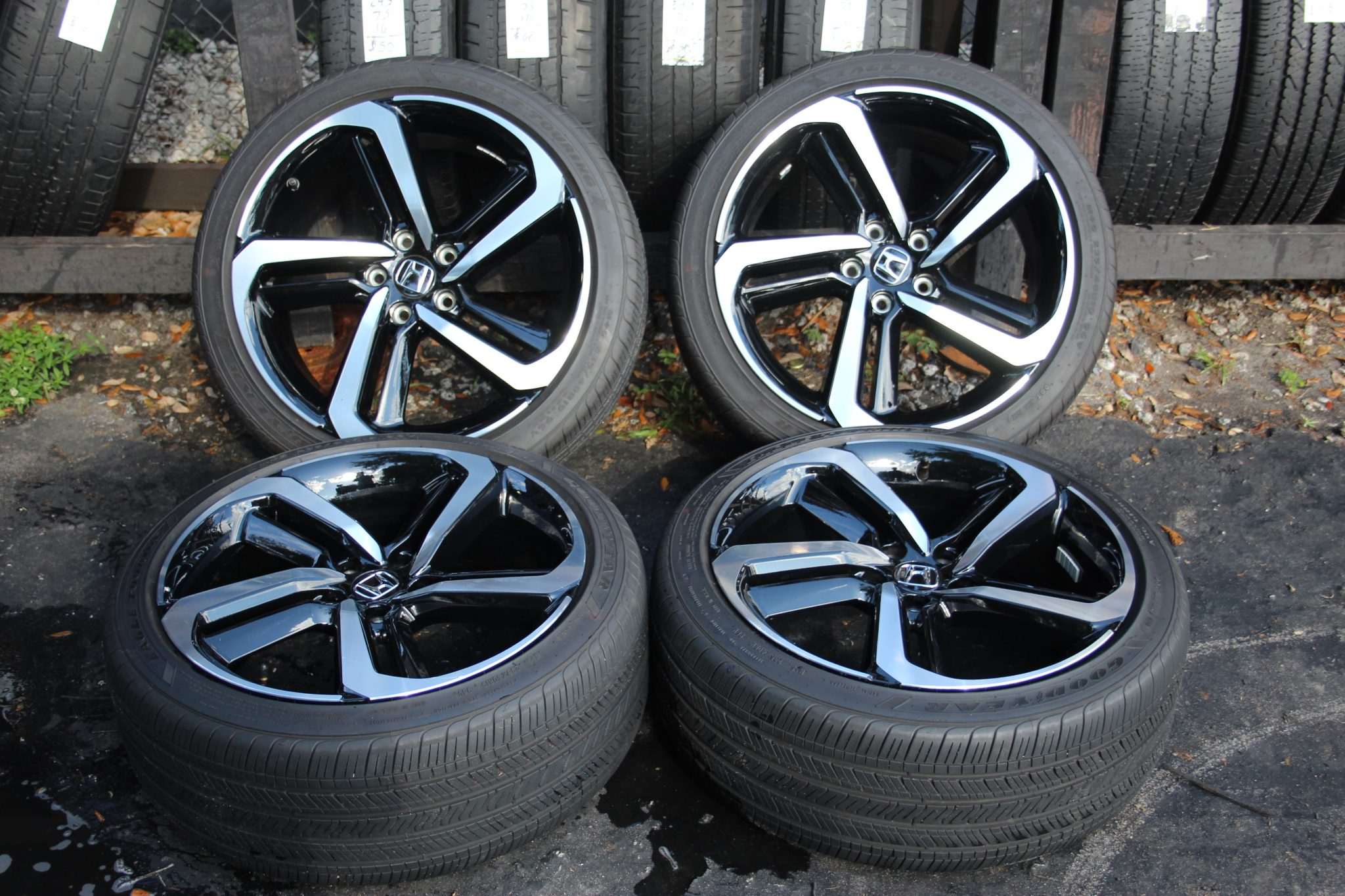 Honda Accord Tires >> Set Of 4 Honda Accord Sport 2018 2019 19 Oem Rims Tires 64127 42700tvaa94 4118
