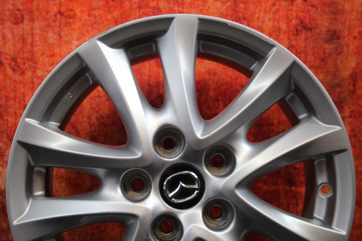 """Mazda 3 2014 2015 16"""" OEM Rim Wheel 64961 9965D06560 ... 2014 Mazda 3 Wheel Offset"""