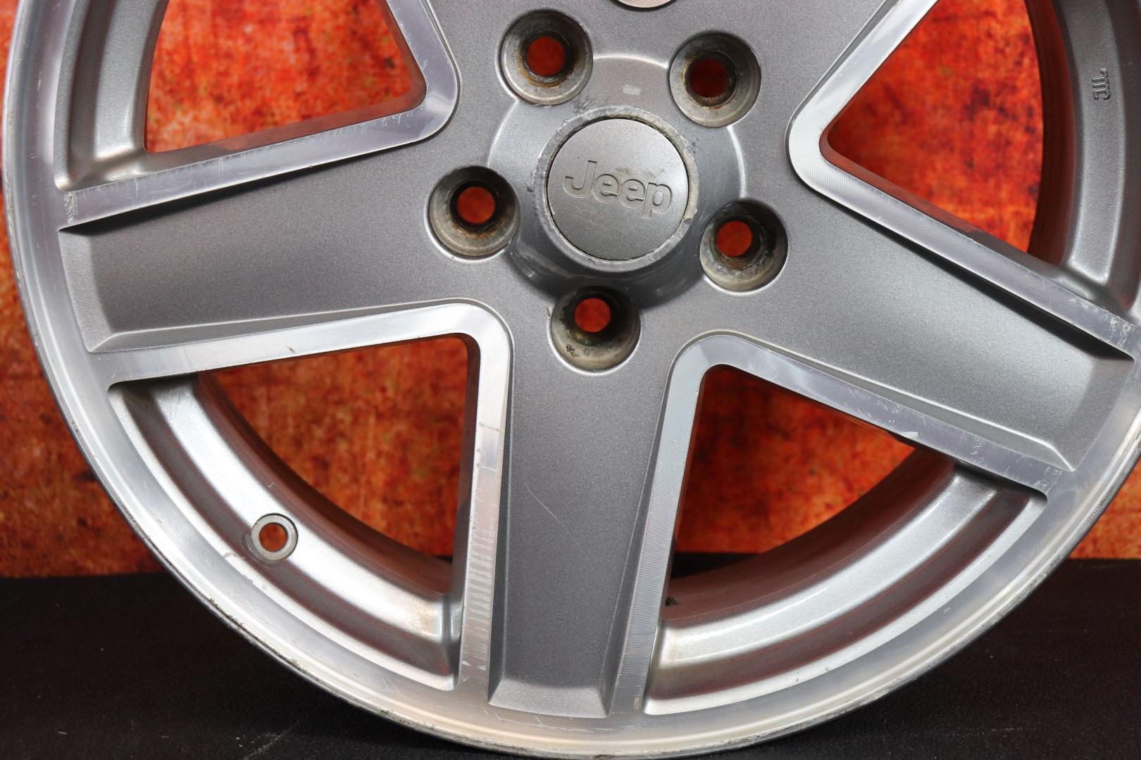"Jeep Compass Patriot 2007 2008 2009 2010 17/"" Factory OEM Wheel Rim"